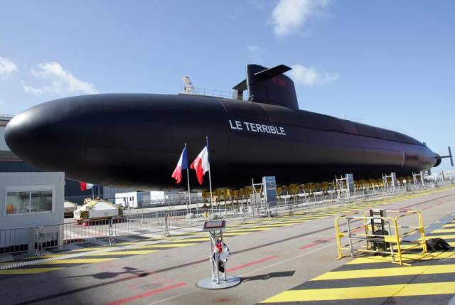 Francuska łódź podwodna Le Terrible