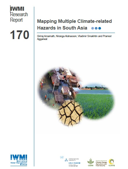 Mapping Multiple Climate-related Hazards in South Asia