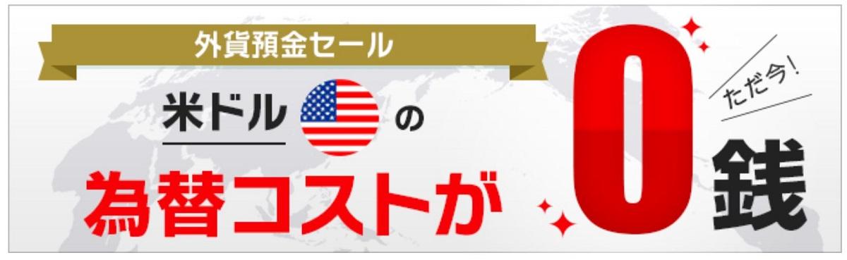SBI為替手数料無料キャンペーン