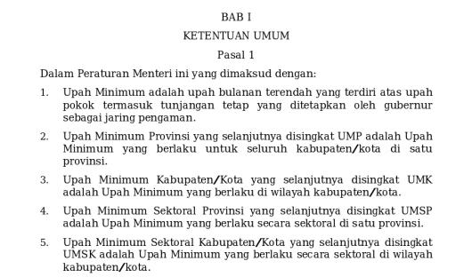 Perbedaan UMR, UMP & UMK