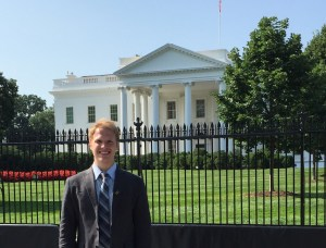 Josh at the White House