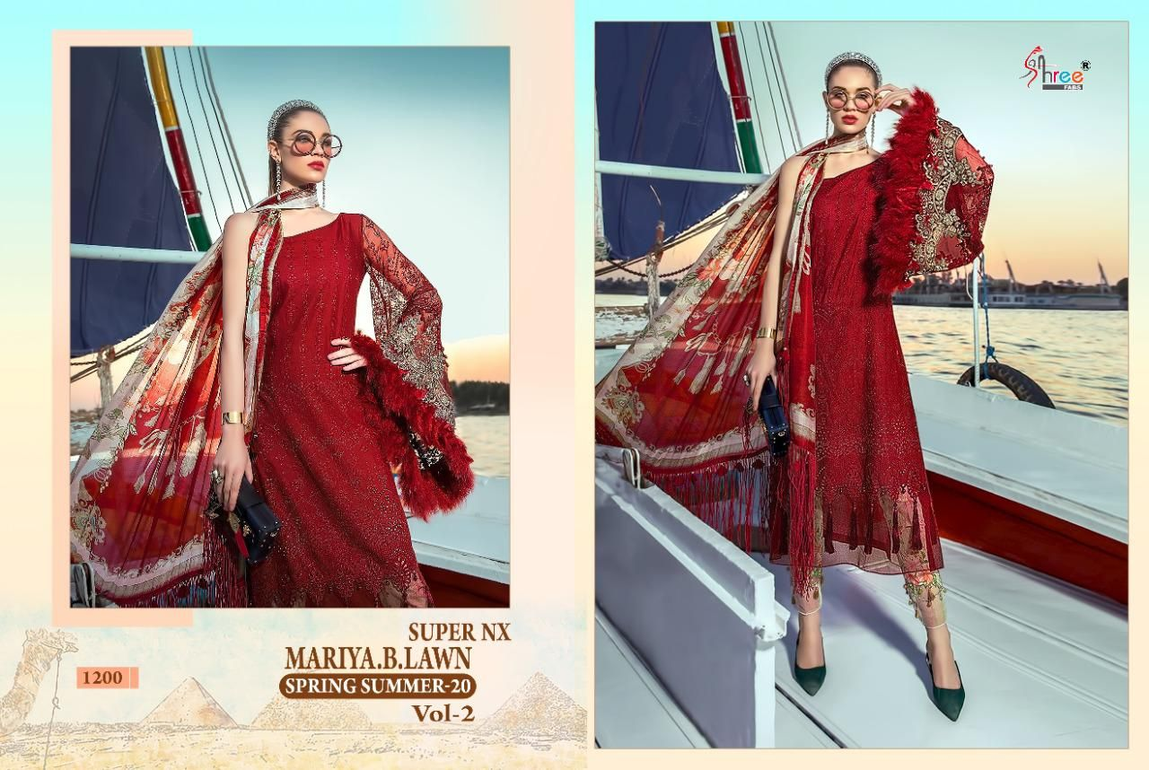 SHREE FABS 1200 RED DESIGN