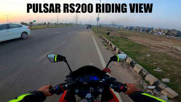 pulser rs200 bs6 red