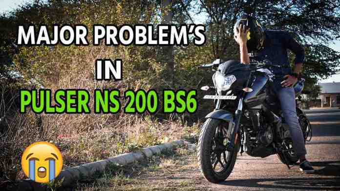 problems in pulser ns200