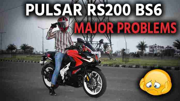 rs200 bs6 problems