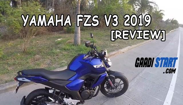 Yamaha FZ vs FZs v3