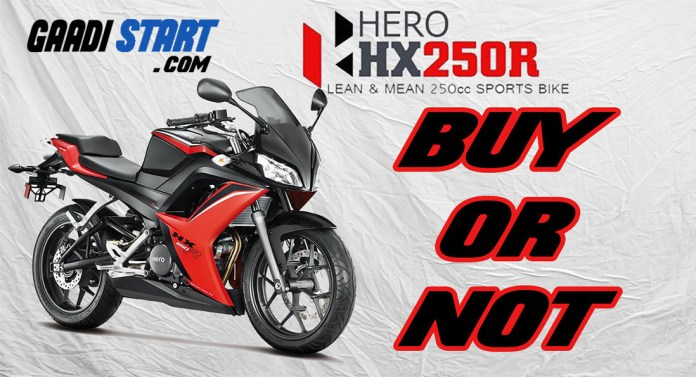 hero 250cc bike