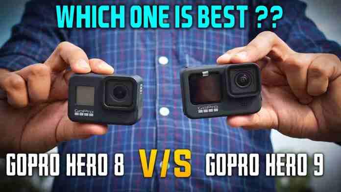 gopro hero 8 vs gopro hero 9