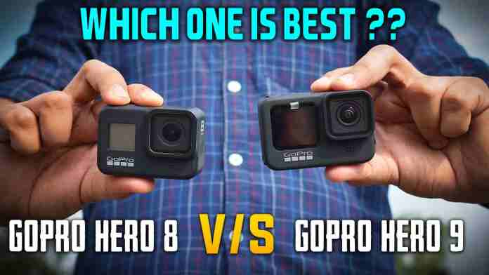 Goporo hero 9 vs gopro hero 8