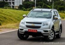 2016 Chevrolet TrailBlazer India Test Drive Review