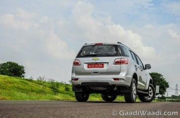 2016 Chevrolet-TrailBlazer India rear