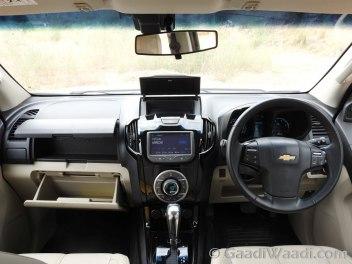 2016 Chevrolet TrailBlazer interior