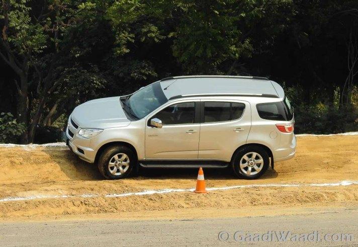 Chevrolet Trailblazer in India-7