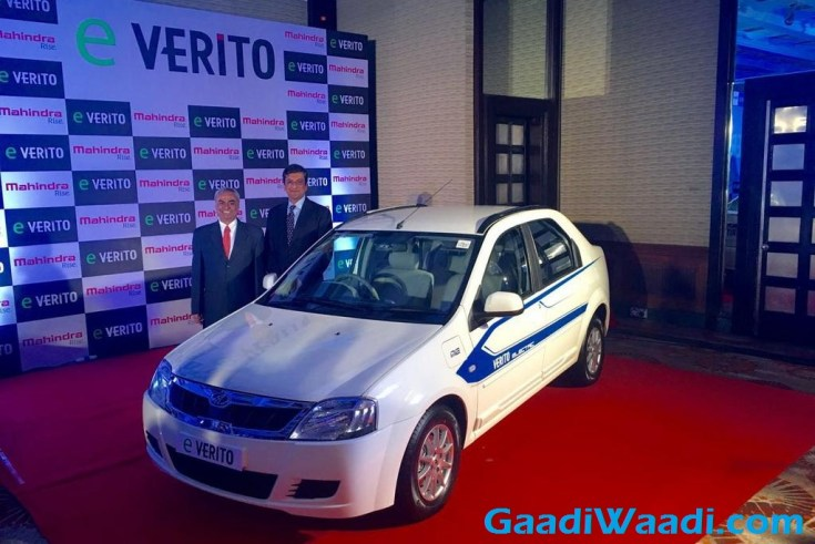 Mahindra e-Verito Launched in India
