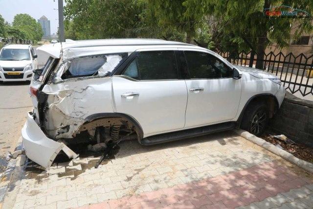 new fortuner accident india-8