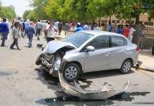 new fortuner accident india