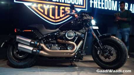 2018 Harley Davidson Fat Bob Launched In India 10