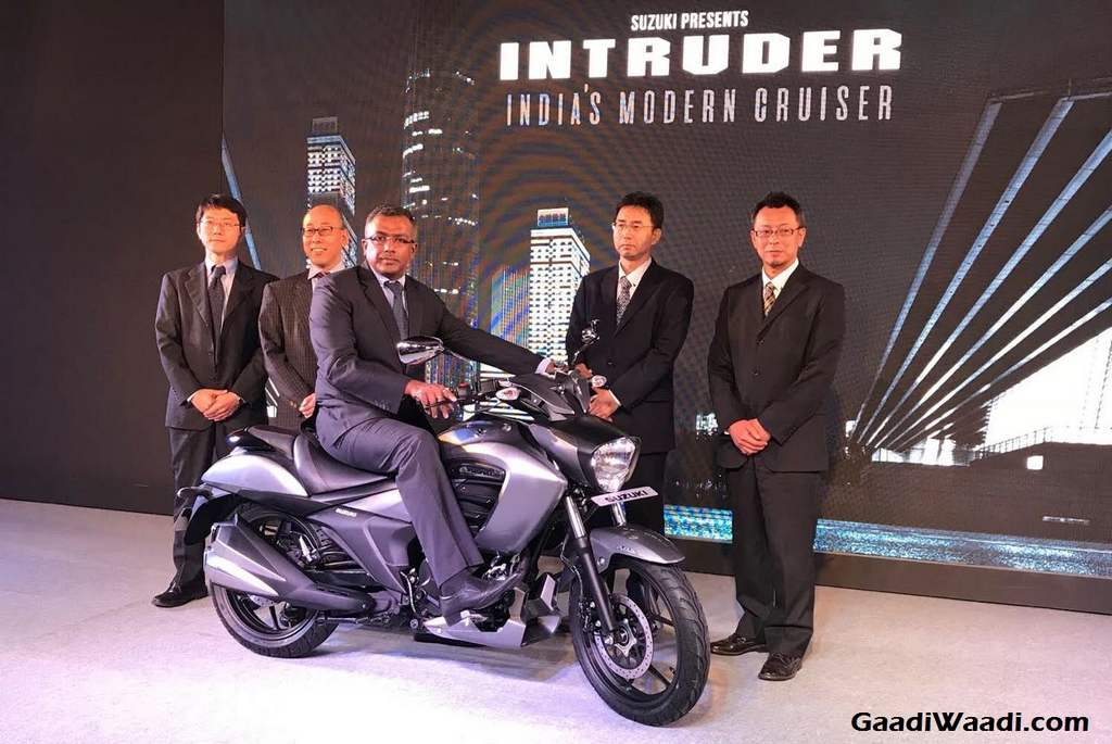 Suzuki Intruder 150 Launched In India, Price, Engine, Specs, Features