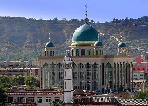 Masjidka-Husai-Sufi-oo-ku-yaal-China.