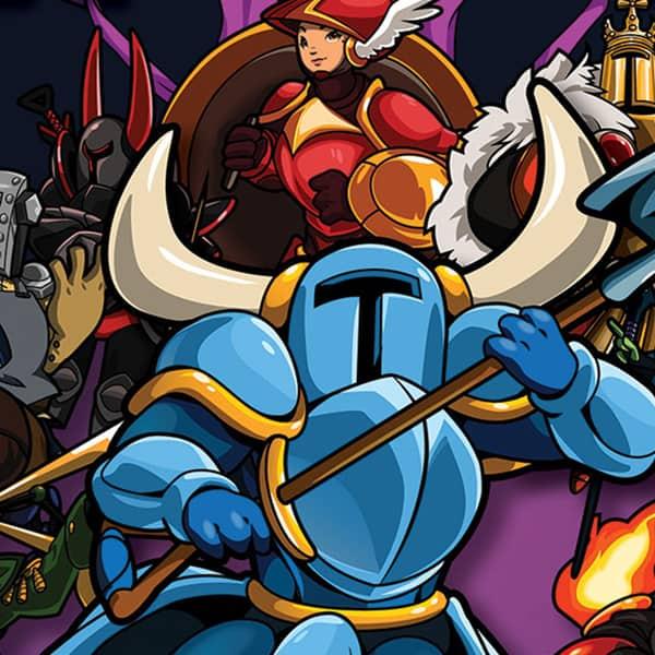 Shovel Knight Cover Art
