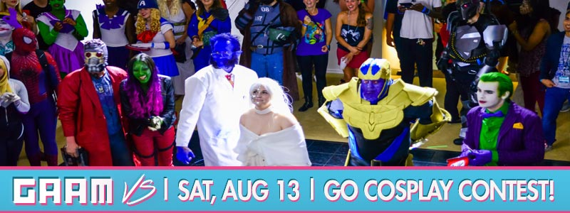 It's Time To GO Cosplay! It's the 2016 GO COSPLAY Contest!