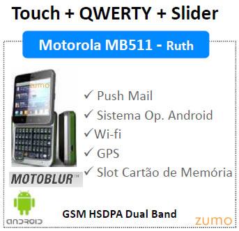 Motorola Ruth MB511
