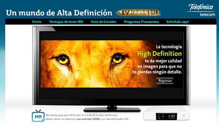 Telefonica Colombia Real HD TV