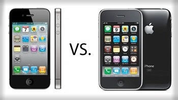 Comparacion iPhone4 y iPhone 3GS