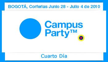Cuarto dia Campus Party Colombia 2010