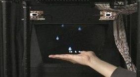Hologramas 3D que se sienten