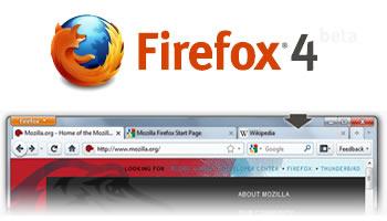 Mozilla Firefox 4 beta1