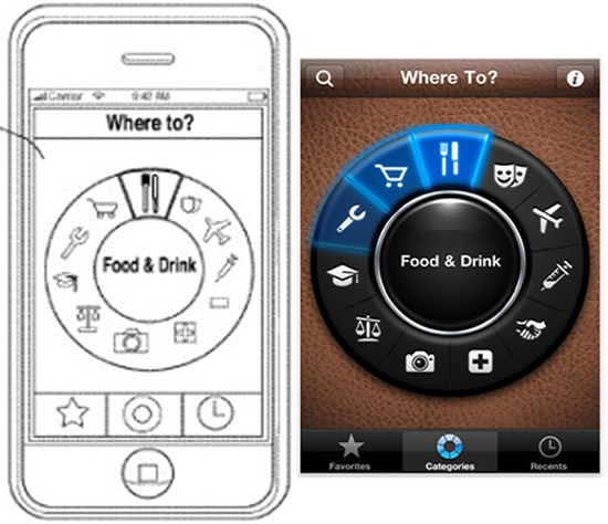 Apple diagrama de aplicacion de otro