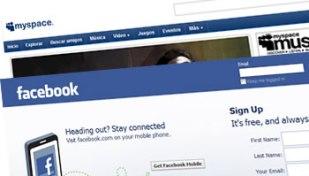 Facebook Sync MySpace