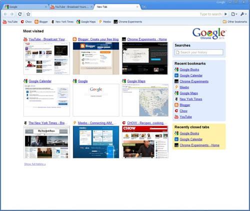 Google Chrome Original 2008