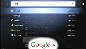 Google TV Fall 2010