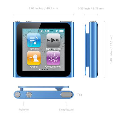 iPod Nano sexta generación