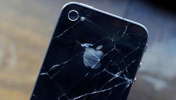 Apple iPhone 4 vidrio roto