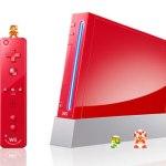 Nintendo Wii Rojo Mario Bros aniversario 25