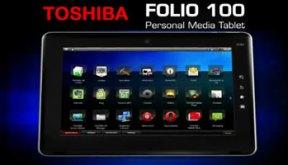Toshiba Folio 100 tablet