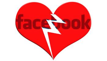 Facebook - Relaciones sentimentales terminadas