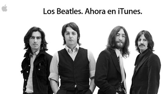 Los Beatles llegan a Apple iTunes