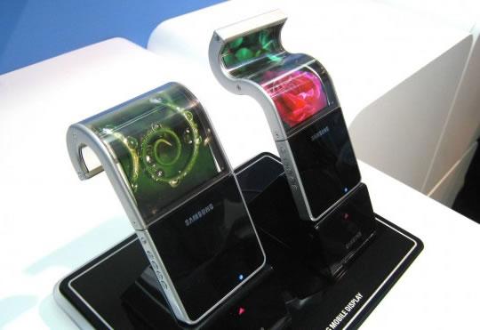 Pantalla Flexible de Samsung