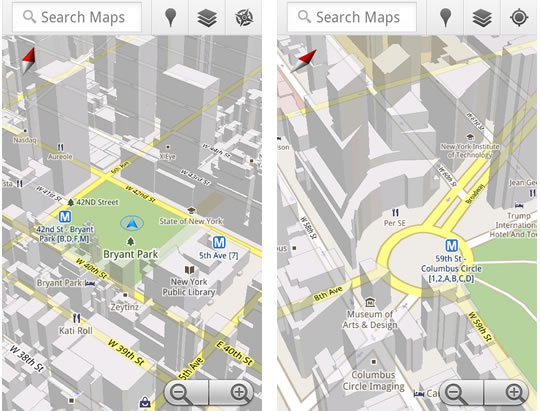 Google Maps 5 para Android