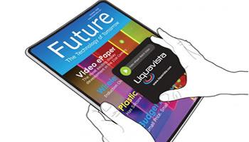 Papel electrónico desachable con tecnología Electrowetting