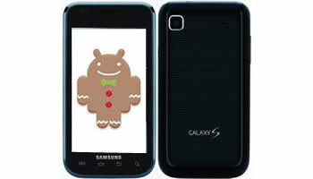 Samsung Galaxy S con Android Gingerbread