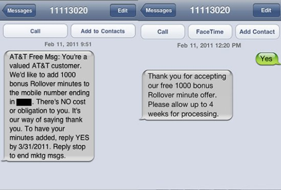AT&T minutos gratis