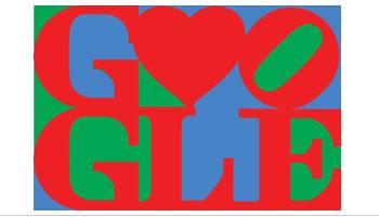 Doodle de Google por San Valentin creado por Robert Indiana