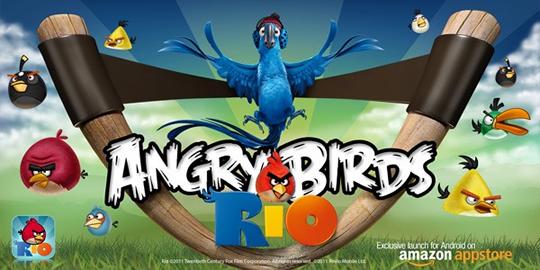 Angry Birds Rio Exclusivo para Amazon AppStore