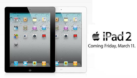 Apple iPad 2 a la venta Estados Unidos
