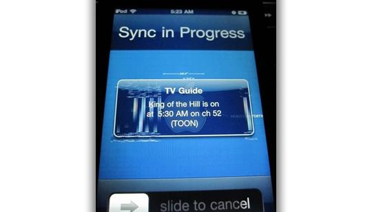 Apple iPod Touch problemas despues de iOS 43